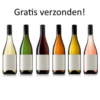 6 flessen wijn brons gratis verzonden.